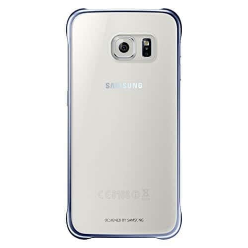 Samsung Clear Back Cover for Galaxy S6 (Black) 1
