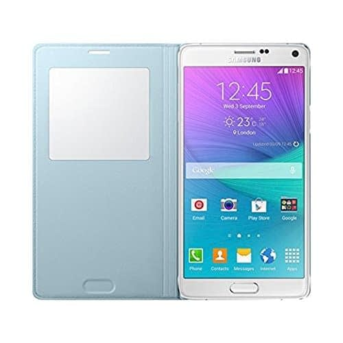 Samsung EF-CN910BMEG S-View Cover for Galaxy Note 4 (Mint) 3
