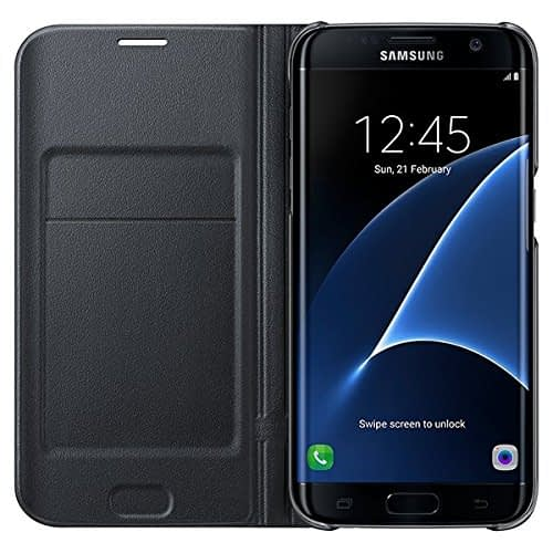 Samsung Galaxy S7 Edge LED view cover Black 4