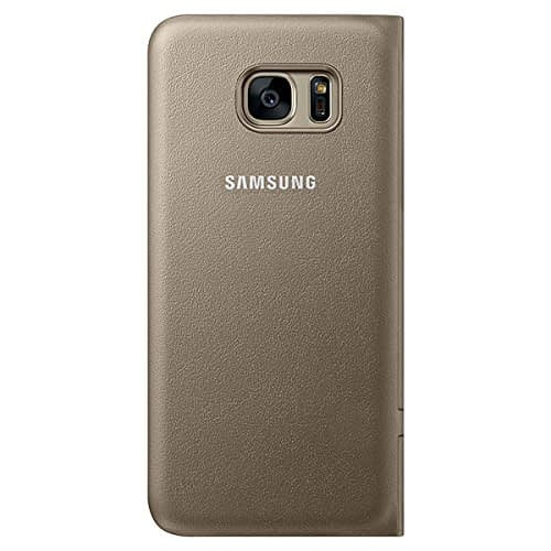 Samsung Galaxy S7 Edge LED view cover Gold 3
