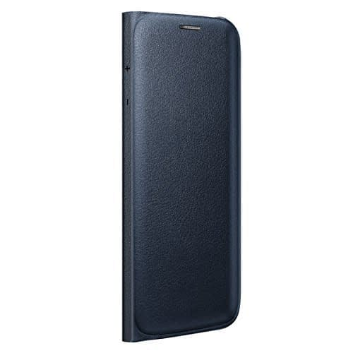 Sumsung Flip Wallet PU Cover for Galaxy S6 Edge (Black) 4