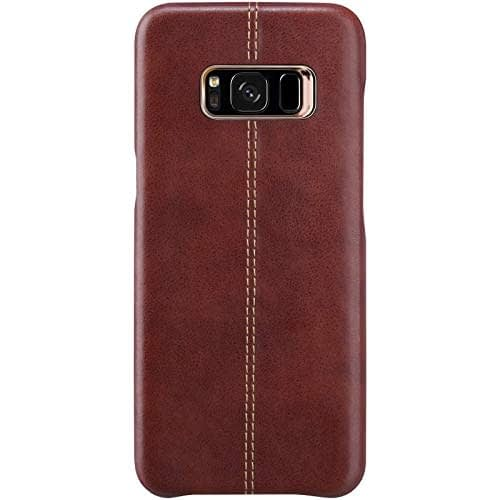 Vorson Pu Leather Case Shock Resistance Protective Back Cover Case for (Samsung Galaxy S8 (Vorson Back Cover), Blue) 6