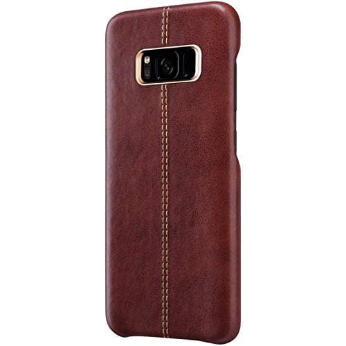 Vorson Pu Leather Case Shock Resistance Protective Back Cover Case for (Samsung Galaxy S8 (Vorson Back Cover), Blue) 1
