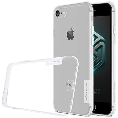 iPhone 7 Case, Original Nillkin Nature Series Back Soft Flexible TPU Gray Color 1