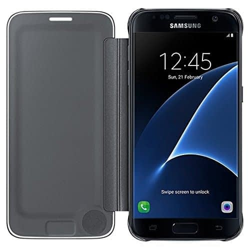 samsung galaxy S7 clear view cover-black 3