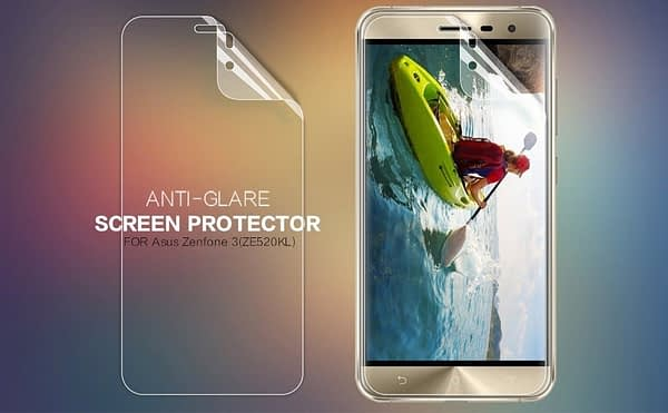 Original Nillkin Matte ANTI-GLARE Screen Guard / Scratch Protector for Asus Zenfone 3 ZE520KL ( 5.2 inch ) 1