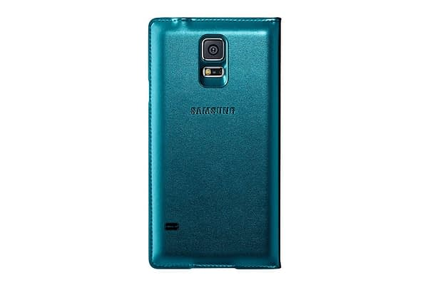 Samsung EF-CG900BGEGIN S-View Cover for Galaxy S5 (Green) 4