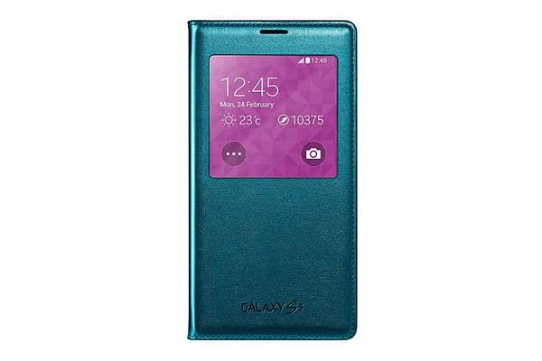 Samsung EF-CG900BGEGIN S-View Cover for Galaxy S5 (Green) 1