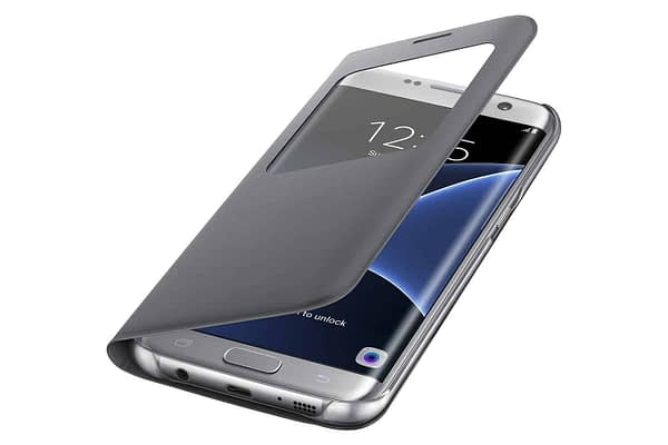 Samsung S7 Edge S-View Cover - Silver 5