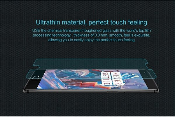Nillkin HG-SP YJ-A3000 Amazing H Nano Anti Burst Tempered Glass Screen Protector Guard For Oneplus Three / One Plus Three / 1+3/ OnePlus 3/ One plus 3 5
