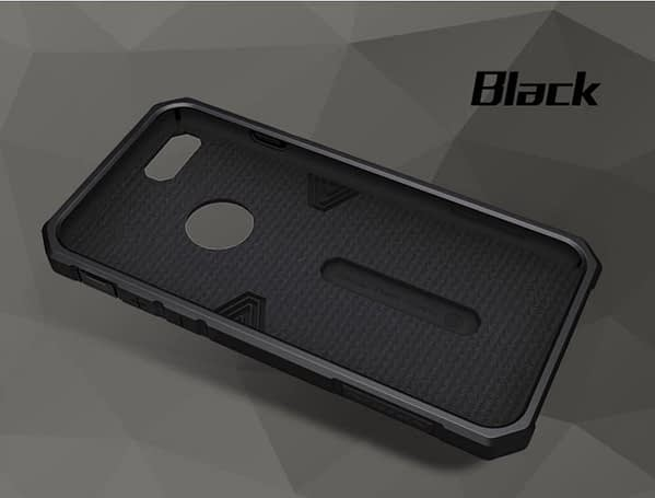 Nillkin Defender-II Dual Layer Shockproof Stand Bumper Back Case Cover for Apple iphone 7 - Black 8
