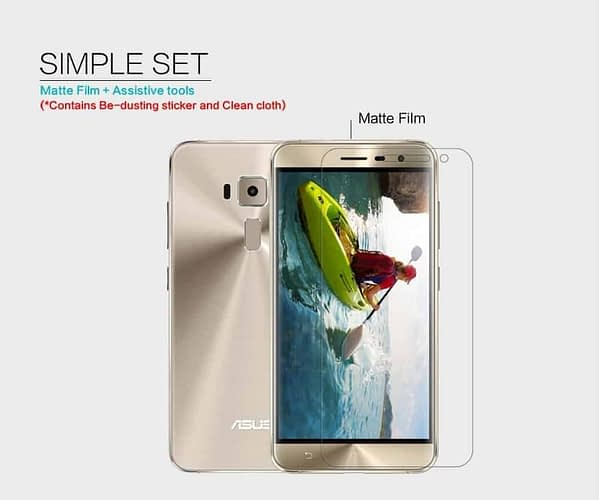 Original Nillkin Matte ANTI-GLARE Screen Guard / Scratch Protector for Asus Zenfone 3 ZE520KL ( 5.2 inch ) 5