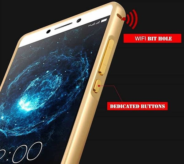 Royal Star Luxury Metal Bumper + Acrylic Mirror Back Cover Case For LeEco LeTv Le 2 / Le 2 Pro (5.5 inch Display ) (Gold Mirror) 4