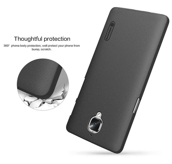 Nillkin Case for OnePlus 3T One Plus 3 T Super Frosted Hard Back Cover Hard PC Black 7