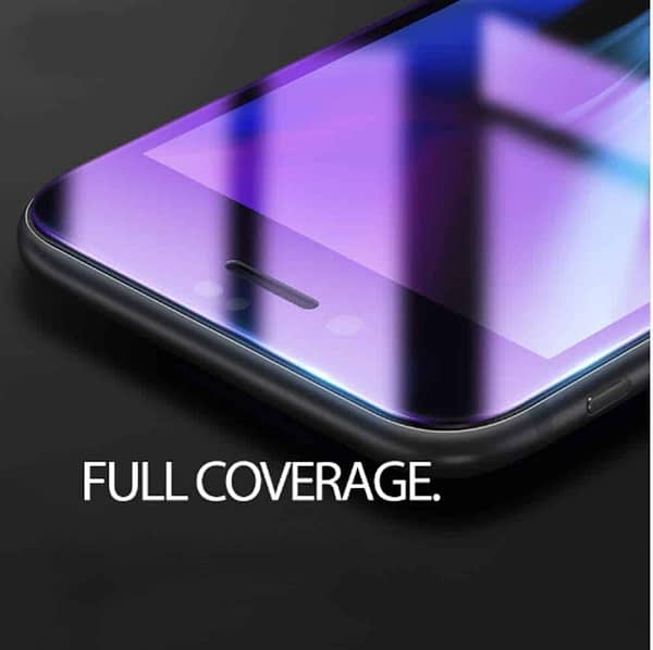 Royal Star 6D Curved Anti-Blue Ray 9H Full Screen Coverage Screen Tempered Glass Protector Guard for (Apple iPhone 7 Plus & Apple iPhone 8 Plus, Black) 7