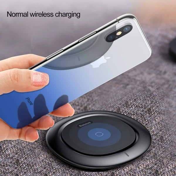 Baseus High-definition 0.3mm Slim Coloring Tempered Glass Back Retral Film Back Protective Film For iPhone X (Blue) 9