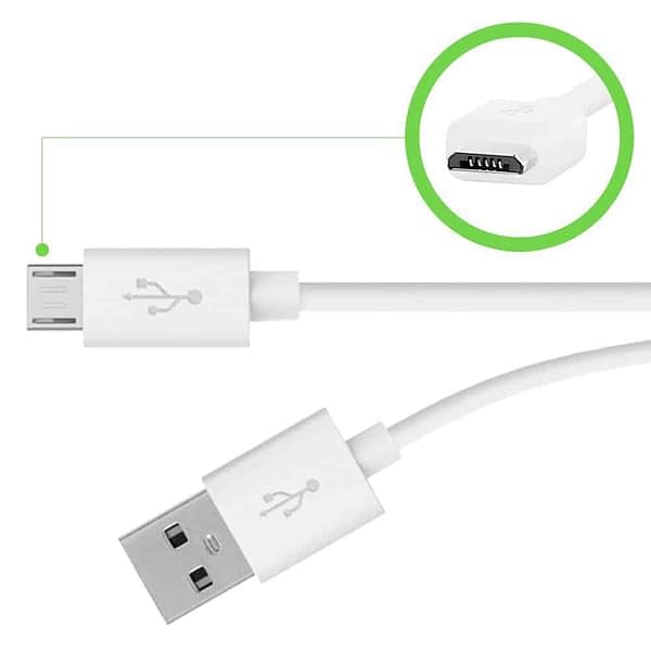 Belkin Mixit Up Micro-USB to USB Charge and Sync Cable For Android Devices (White, 4 Foot) 5