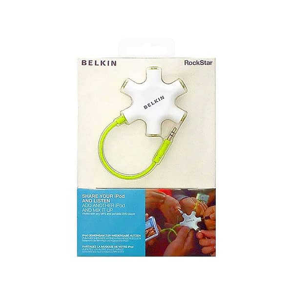 Belkin RockStar Audio Splitter 4