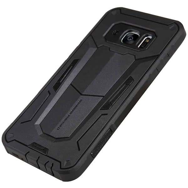 Black Nillkin Defender 2 Shell Heavy Duty Drop Proof Back Case Cover for Samsung Galaxy S7 edge 4