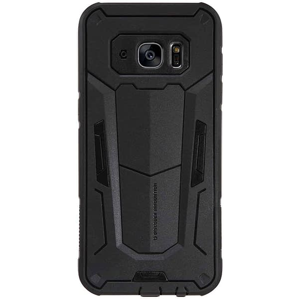 Black Nillkin Defender 2 Shell Heavy Duty Drop Proof Back Case Cover for Samsung Galaxy S7 edge 1