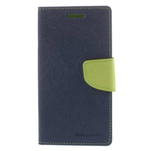J.N. Mercury Flip Cover for Micromax A116 in Blue Green 1