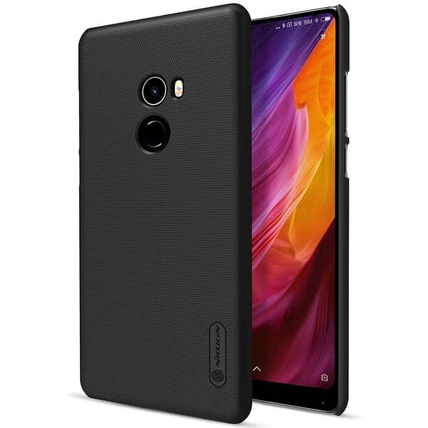 NILLKIN Frosted Shield Ultra Thin Hard Plastic Back Cover Case for Xiaomi Mi Mix 2 (5.99 inch)- Black (Check Your Mobile Model Before Place Your Order) 3