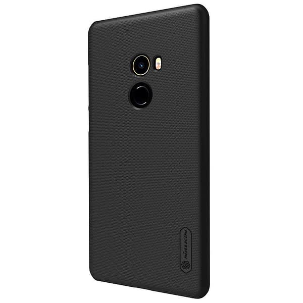 Nillkin Case for Xiaomi Mi Mix 2 Super Frosted Hard Back Cover Hard PC Black Color 3