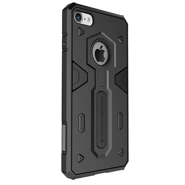 Nillkin Defender-II Dual Layer Shockproof Stand Bumper Back Case Cover for Apple iphone 7 - Black 4