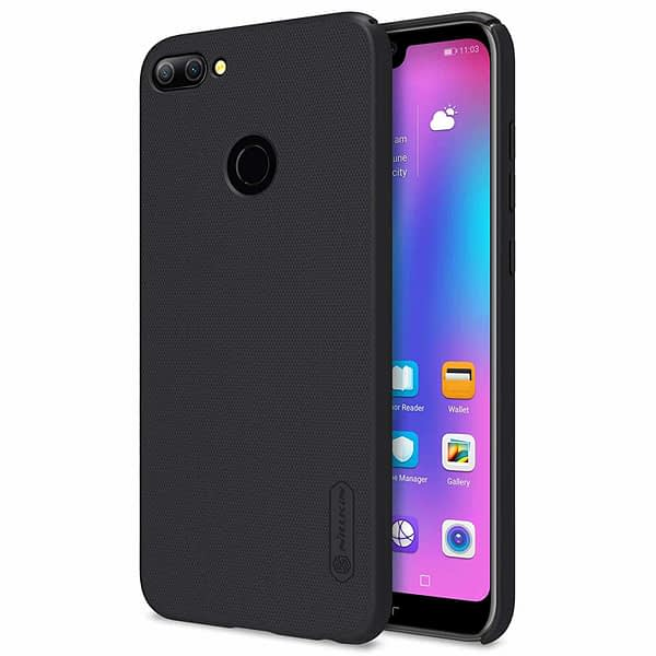 Nillkin Frosted Shield Ultra Thin Plastic Grip Back Cover Case for Honor 9N- (Black) 8