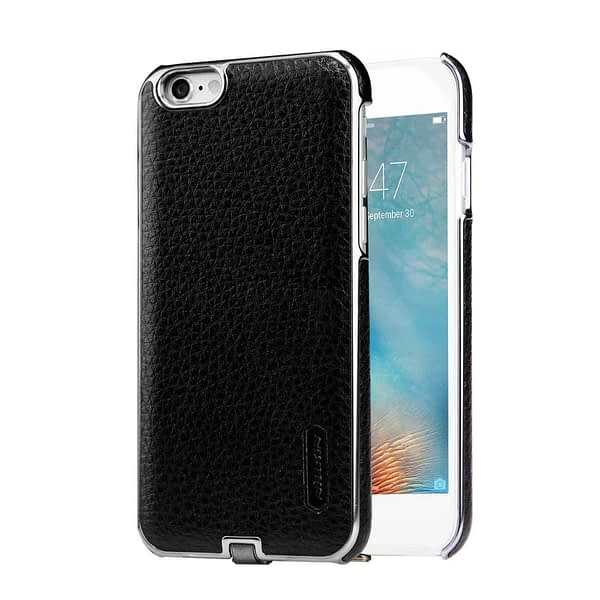 Nillkin N-Jarl QI Wireless Charging Receiver Leather Back Cover Case for Apple iPhone 6 / 6s (Black) 3