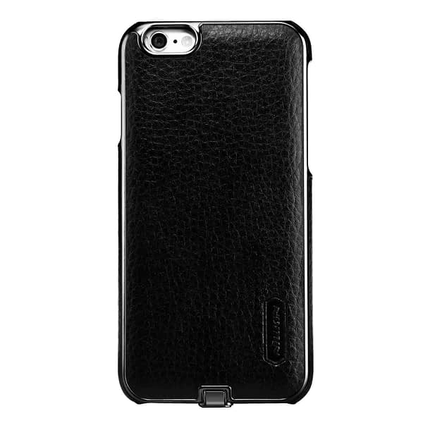Nillkin N-Jarl QI Wireless Charging Receiver Leather Back Cover Case for Apple iPhone 6 / 6s (Black) 4