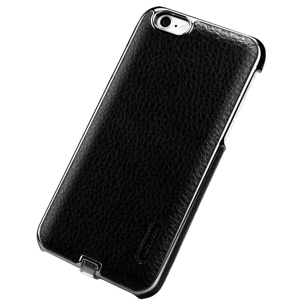 Nillkin N-Jarl QI Wireless Charging Receiver Leather Back Cover Case for Apple iPhone 6 / 6s (Black) 5