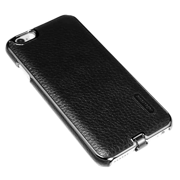 Nillkin N-Jarl QI Wireless Charging Receiver Leather Back Cover Case for Apple iPhone 6 / 6s (Black) 6