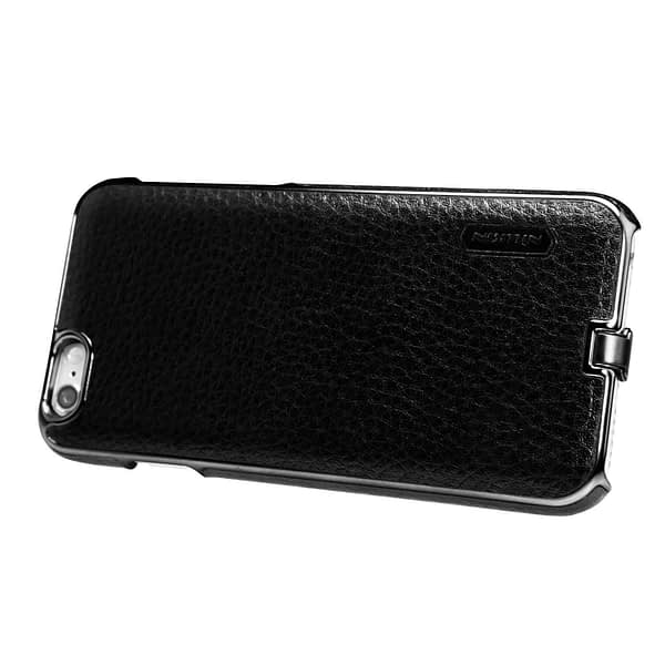Nillkin N-Jarl QI Wireless Charging Receiver Leather Back Cover Case for Apple iPhone 6 / 6s (Black) 7