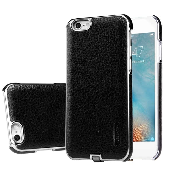Nillkin N-Jarl QI Wireless Charging Receiver Leather Back Cover Case for Apple iPhone 6 / 6s (Black) 1