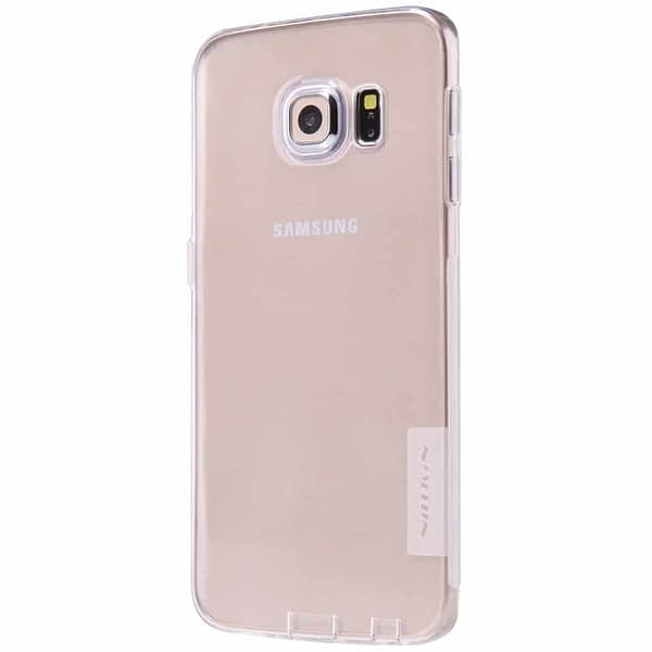 Nillkin Nature TPU Case For Samsung Galaxy S6 Edge-White 3