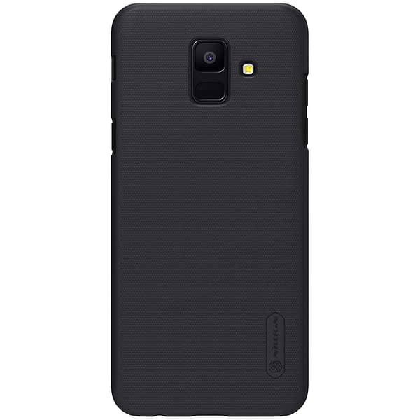 Nillkin Super Frosted Hard Back Hard PC Case for Samsung Galaxy A6 A 6 2018 Version (Black) 4