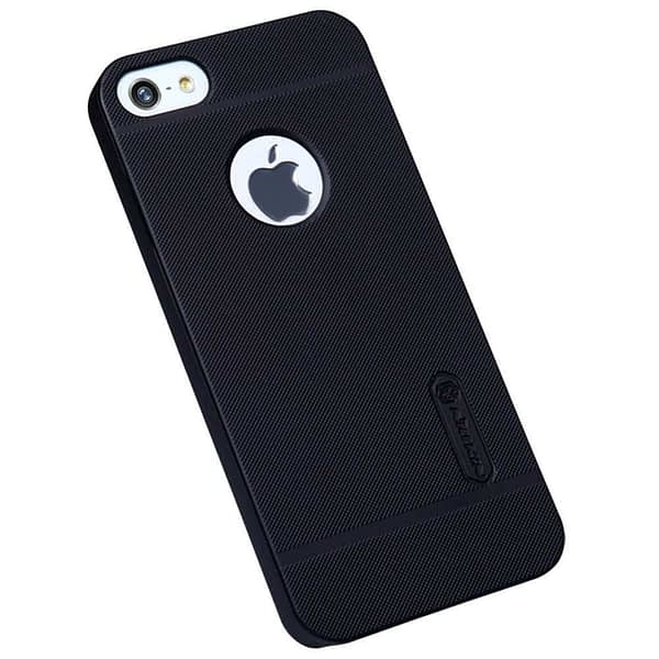 Nillkin Super Frosted Protective Cover Case For Iphone 5 / 5s - Black 3