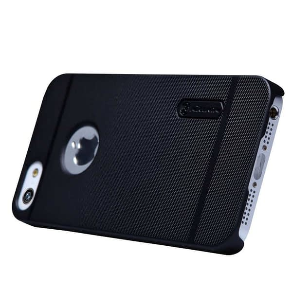 Nillkin Super Frosted Protective Cover Case For Iphone 5 / 5s - Black 5