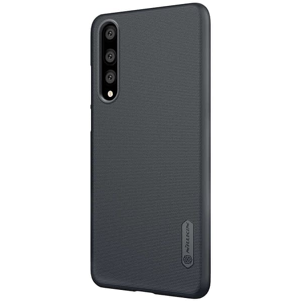 Nillkin Super Frosted Shield Hard Back Cover Case for Huawei P20 Pro(Black) 3