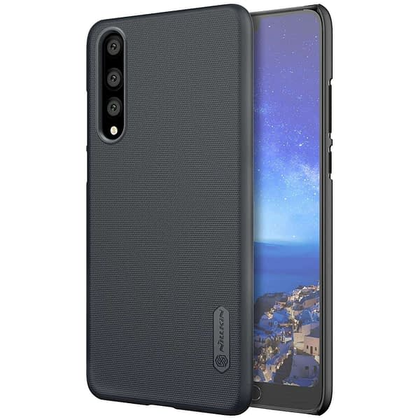 Nillkin Super Frosted Shield Hard Back Cover Case for Huawei P20 Pro(Black) 1