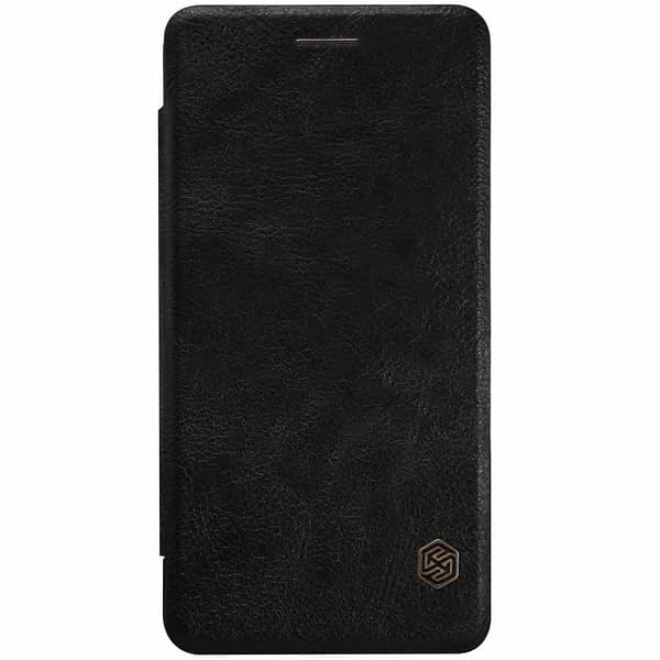 OnePlus X Case, Nillkin[Sleep/Wake Function][Inside Slot][Ultra thin]Qin Series Flip Up Leather Wallet Case For OnePlus X-Retail Package Black 3