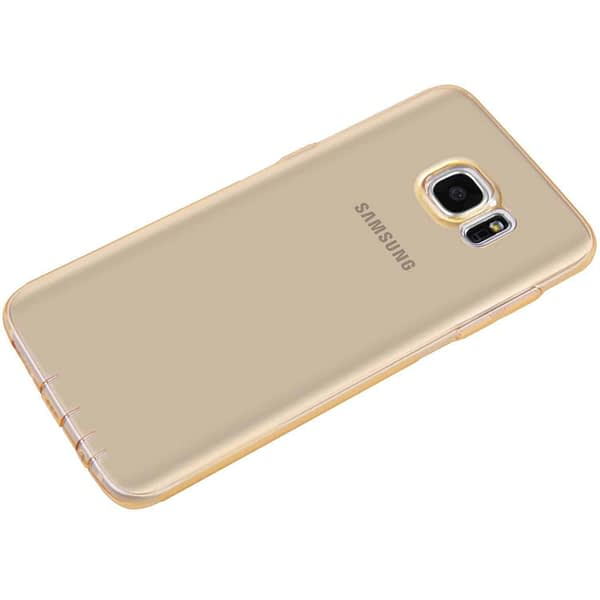 Original Nillkin 0.6MM Nature Soft TPU Flexible Back Cover Case for Samsung Galaxy S7 Edge - ( Brown Color ) 4