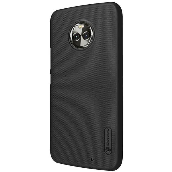 Original Nillkin Frosted Ultra Thin Shield Hard Plastic Back Cover Case for Motorola Moto X4 (5.2 inch)- Black 4