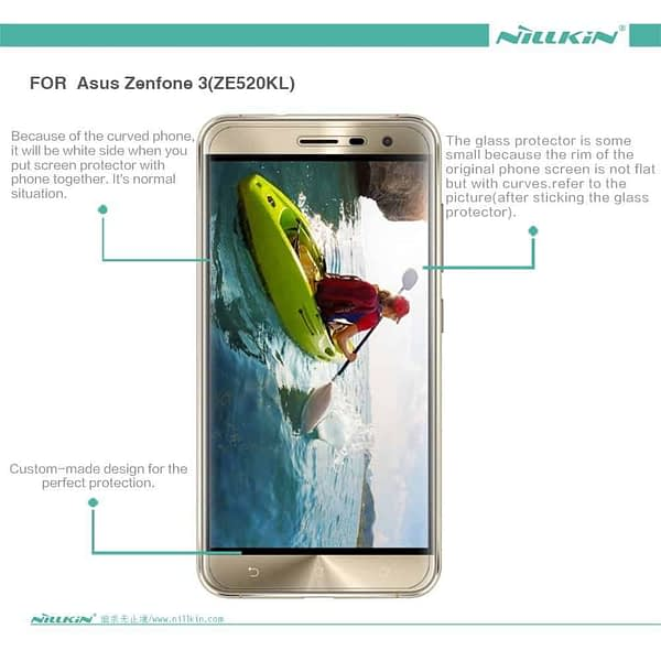 Original Nillkin Matte ANTI-GLARE Screen Guard / Scratch Protector for Asus Zenfone 3 ZE520KL ( 5.2 inch ) 3