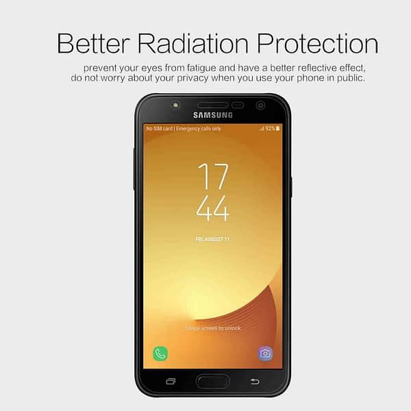 Original Nillkin Matte ANTI-GLARE Screen Guard / Scratch Protector for Samsung Galaxy J7 Nxt 3