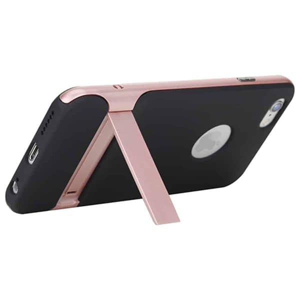 Rock Royce Kickstand Back Case Cover For Iphone 6/6s - Rose Gold 4