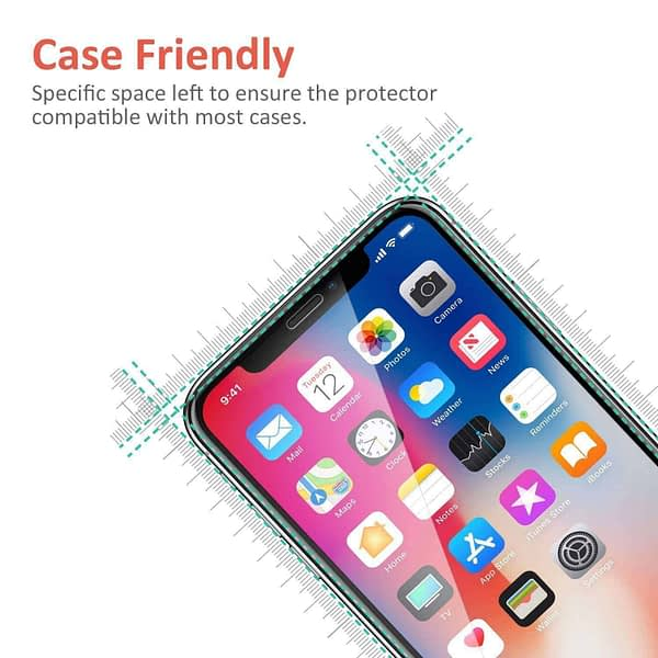 Royal Star 9D Curved 9H Full Coverage Edge to Edge Screen Tempered Glass Protector Guard for Apple iPhone 7 / iPhone8 (Black) 7
