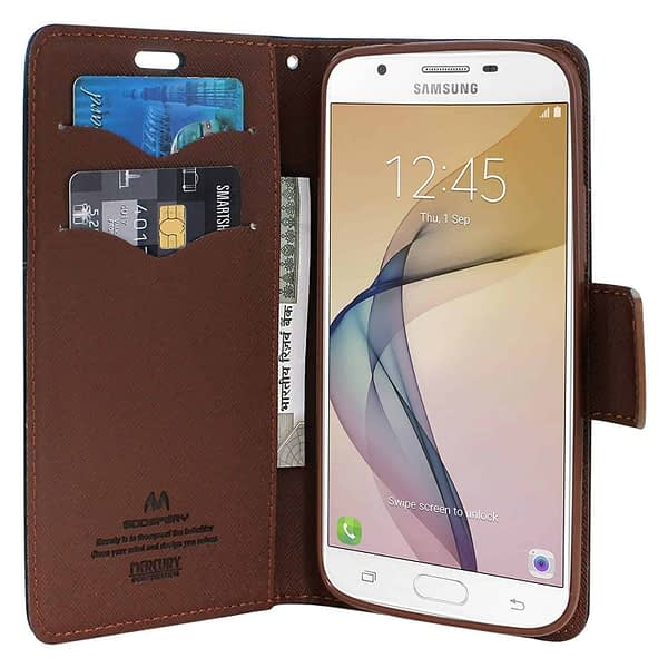 Royal Star [ for Samsung Galaxy A5 2017 (A520) ] Full Protection Fancy Diary Card Wallet Flip Case Back Cover for Samsung Galaxy A5 2017 (A520) (Black Brown) 5