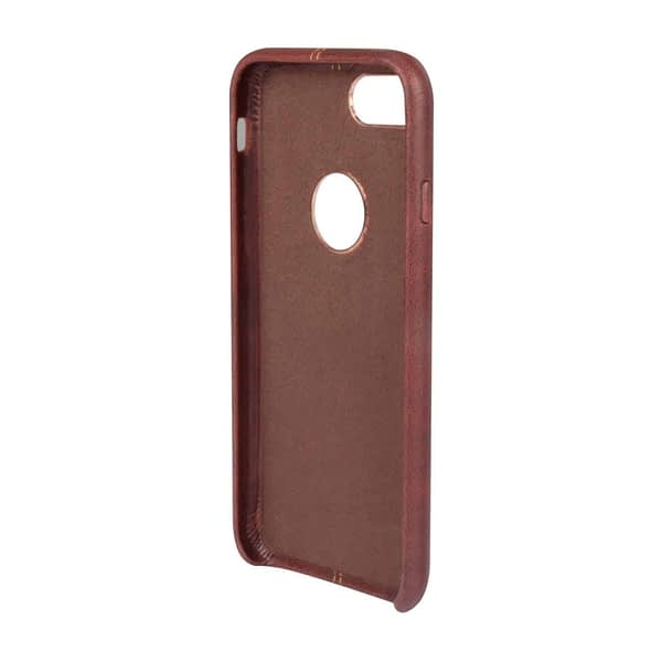 Vorson Pu Leather Case Shock Resistance Protective Back Cover Case for (Apple iPhone 7 (Vorson Back Cover), Brown) 6